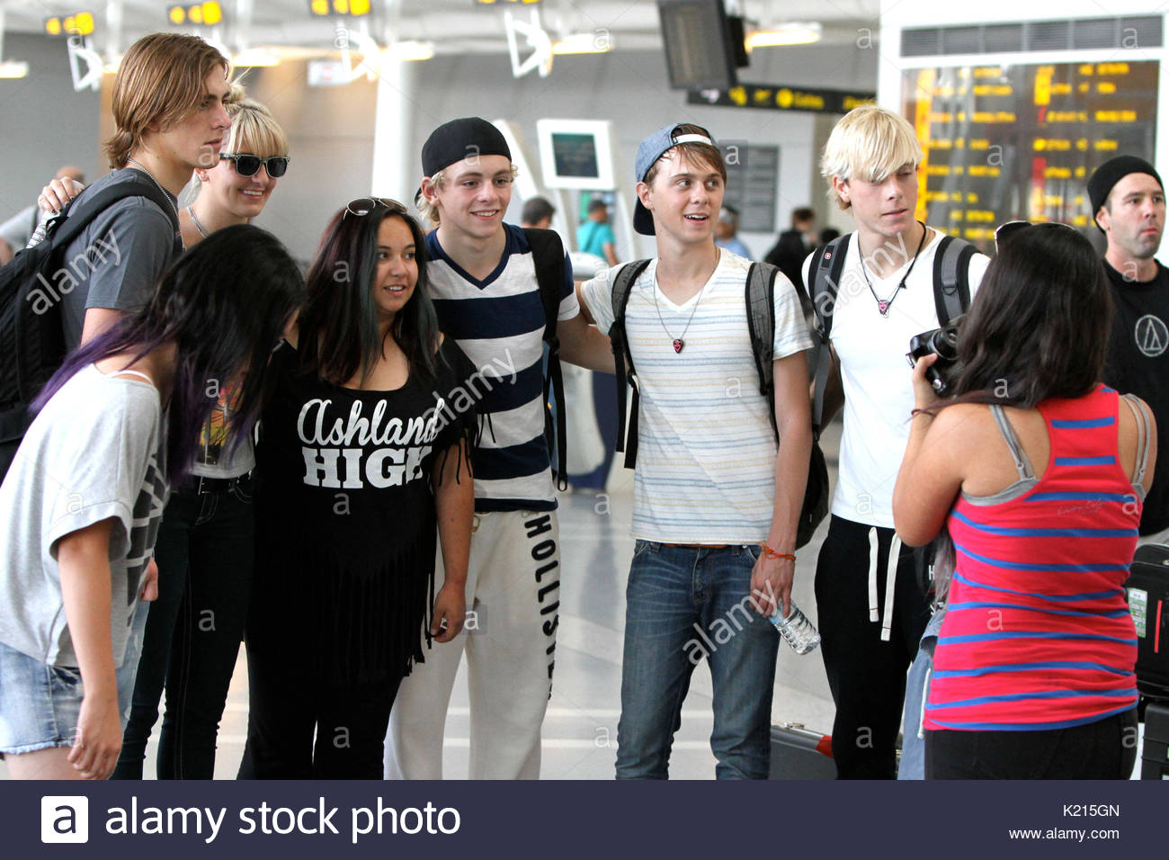 rocky lynch rydel lynch ross lynch ellington ratliff and riker