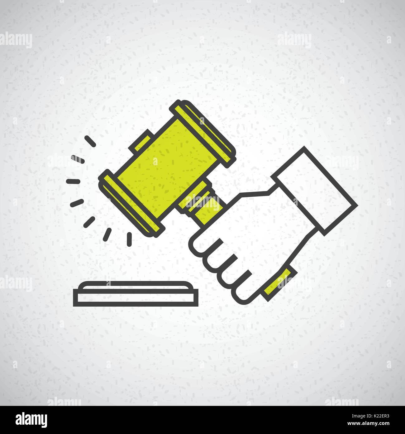 justice concept  design  - Stock Image