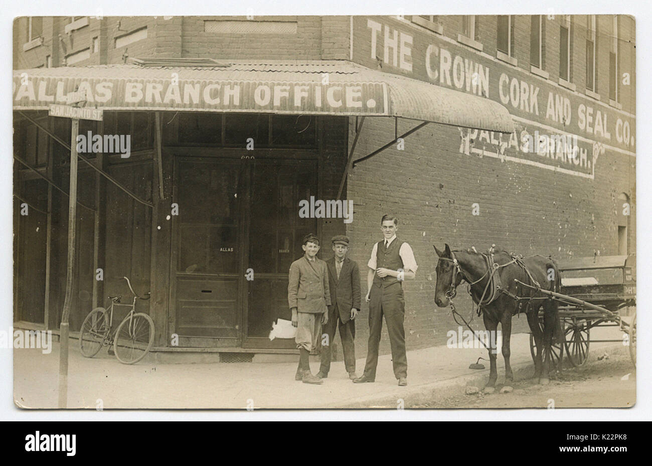 The Crown Cork and Seal Co., Dallas Branch - Stock Image
