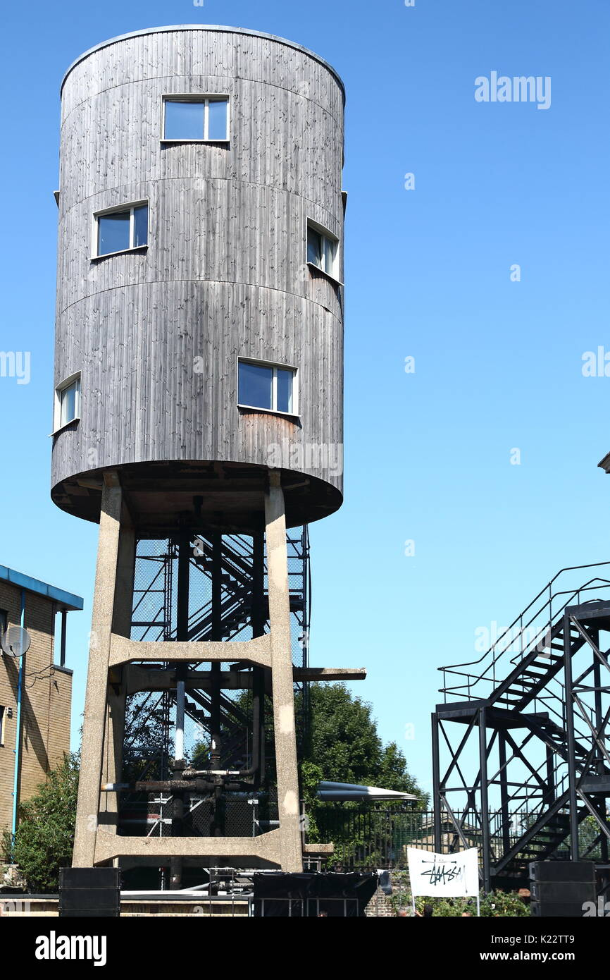 london water tower home