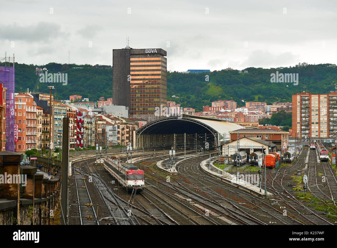 Bilbao, Biscay, Basque Country, Euskadi, Spain, Europe - Stock Image