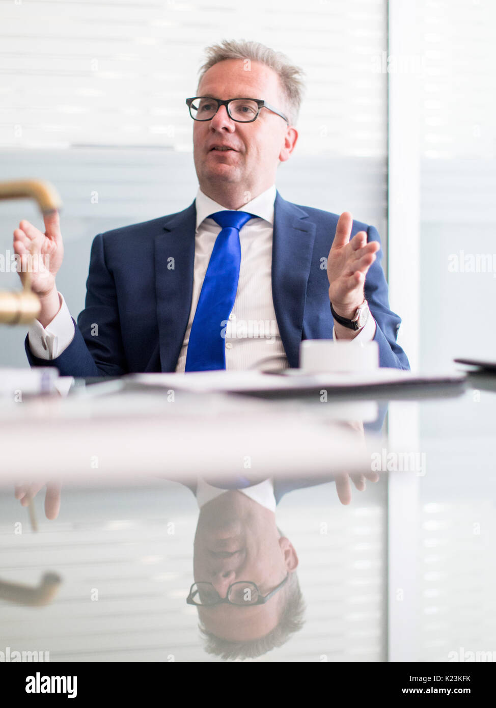 Künstlerisch Grohe Ag Beste Wahl Duesseldorf, Germany. 10th Aug, 2017. The Ceo