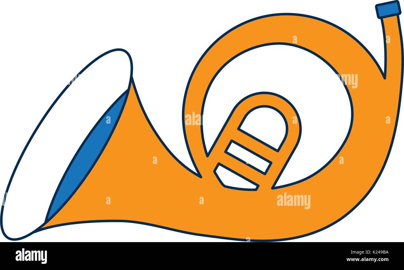 music instruments design - Stock Image
