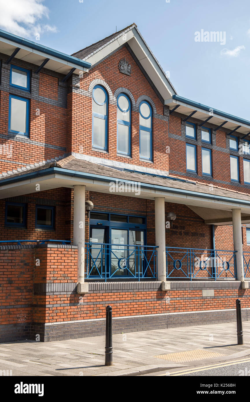 Stafford Crown Court Building Staffordshire Stock Photos