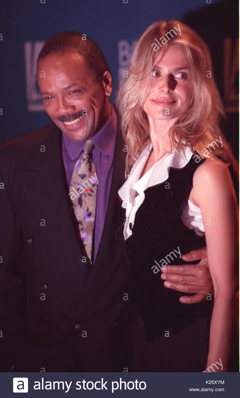 Quincy Jones and Nastassja Kinski. Celebrities appear in ...