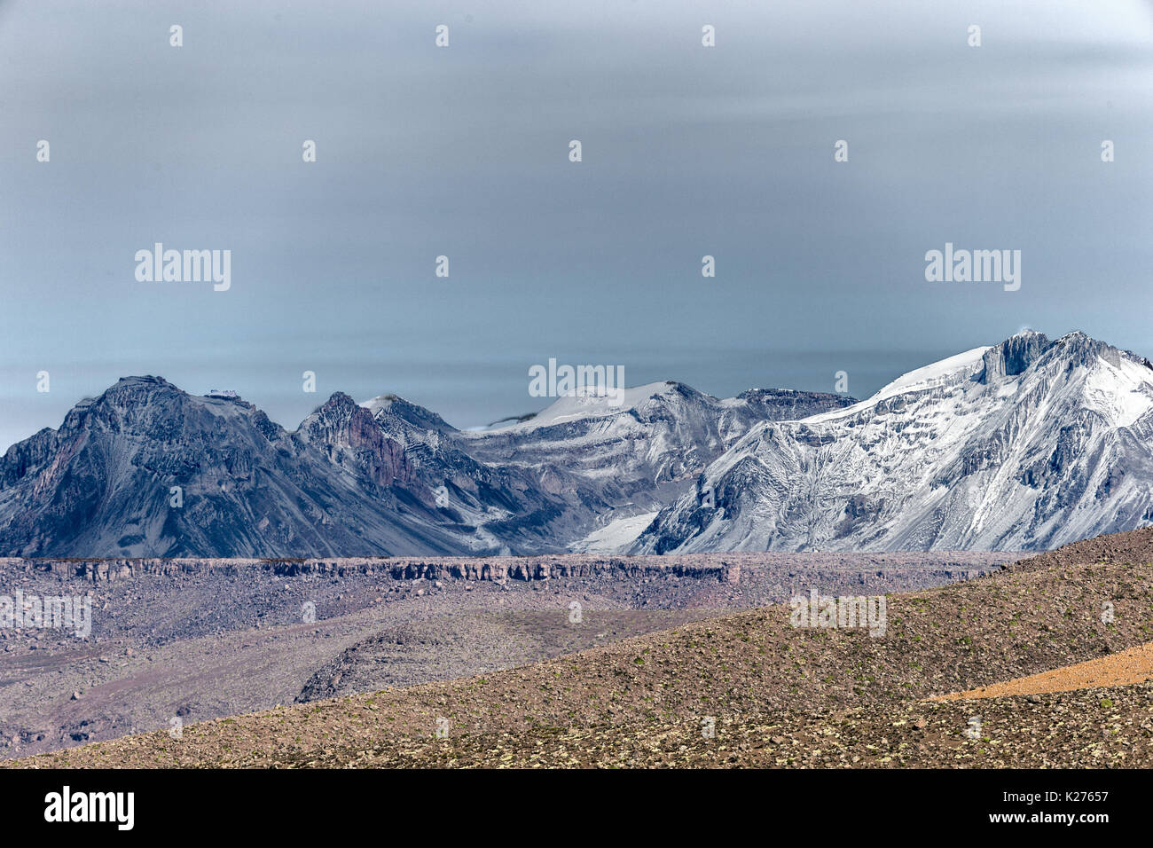 Southern Andes Peru - Stock Image