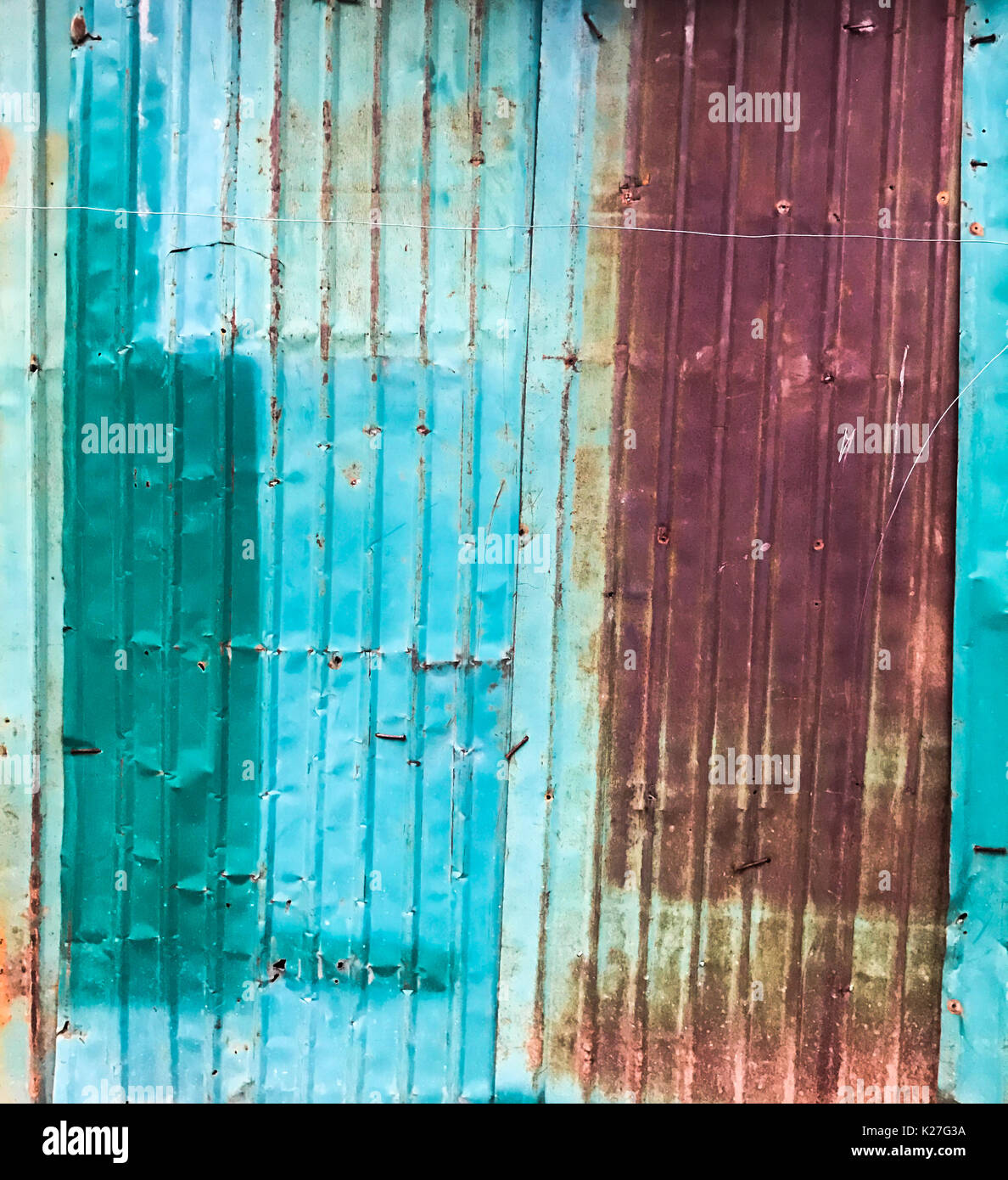 Rusty Corrugated Metal Roof Panel Stock Photos Amp Rusty