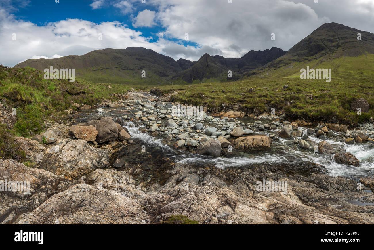 Fairy Pools, Isle of Skye Scotland - Stock Image