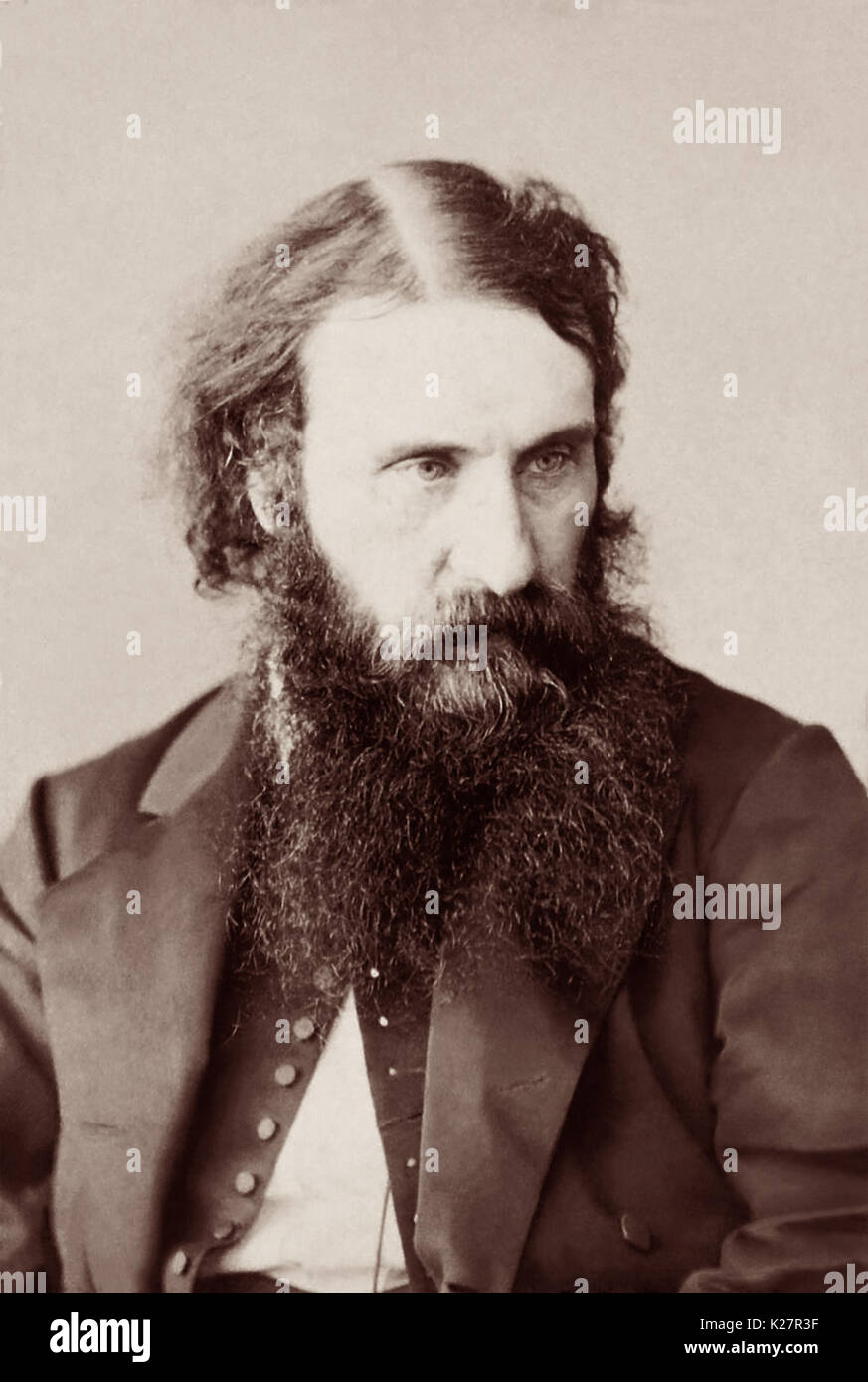 George MacDonald (1824-1905) was a Scottish writer and Christian minister who was a major literary influence on CS Lewis, JRR Tolkien, WH Auden and others. - Stock Image