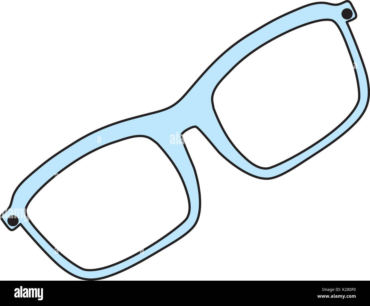 f208705b463 Fashion glasses isolated - Stock Vector