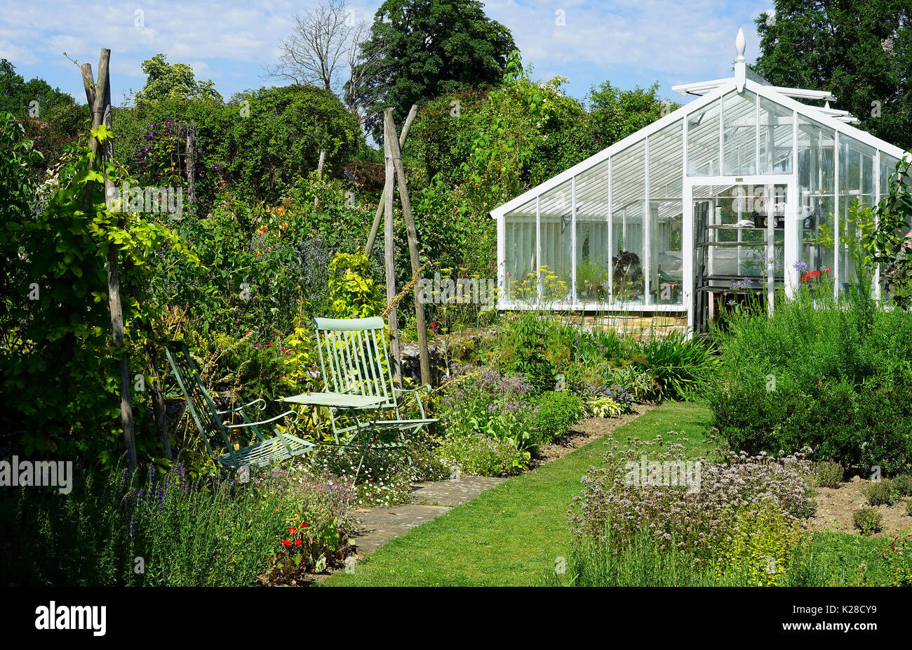 Outstanding Greenhouse Summer Stock Photos Greenhouse Summer Stock Home Interior And Landscaping Dextoversignezvosmurscom