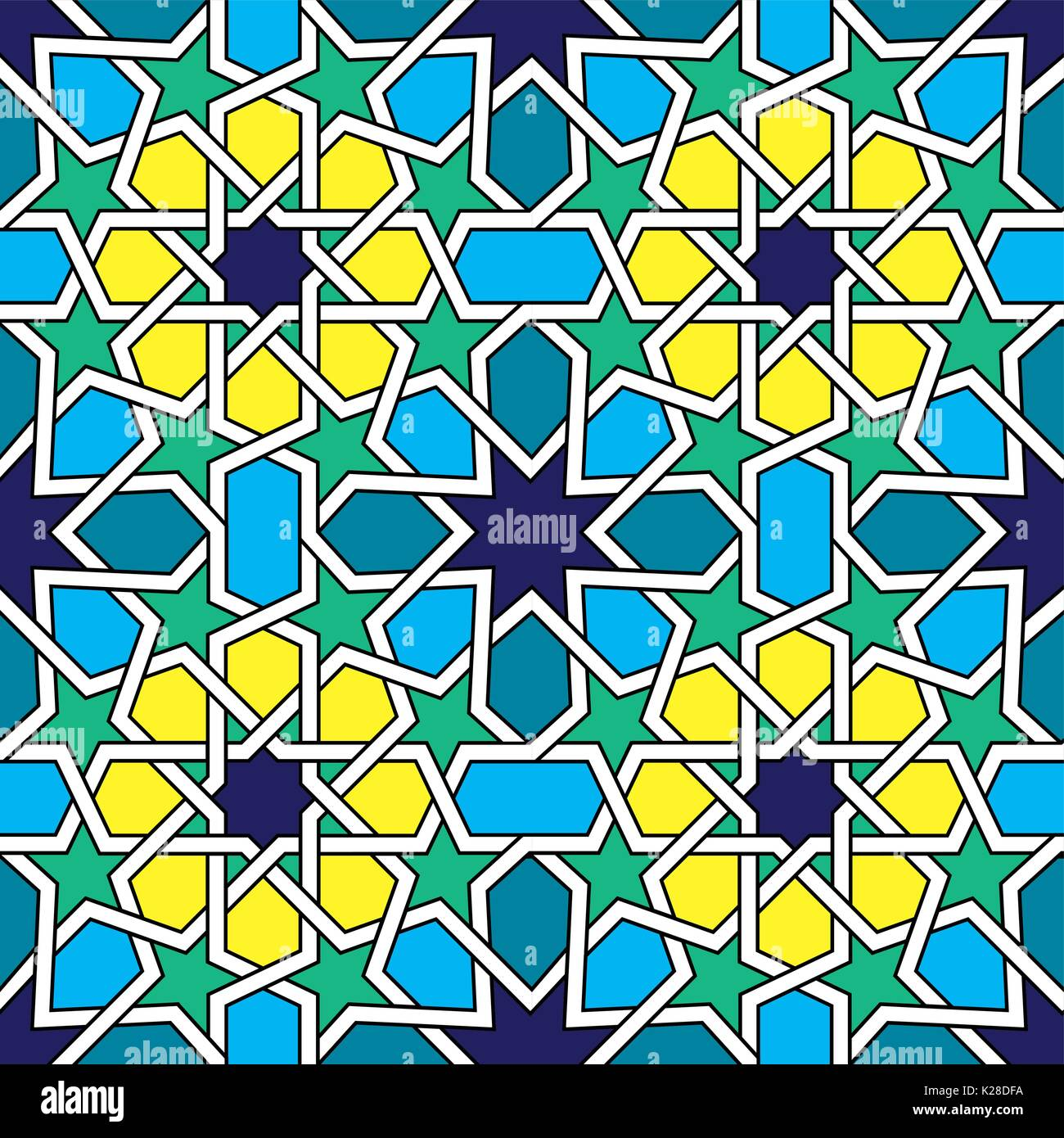 Moroccan Tiles Pattern Stock Photos & Moroccan Tiles Pattern Stock ...