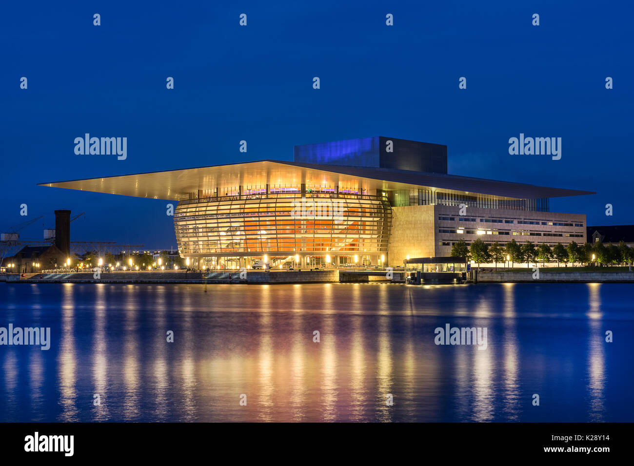 Copenhagen opera house Stock Photo