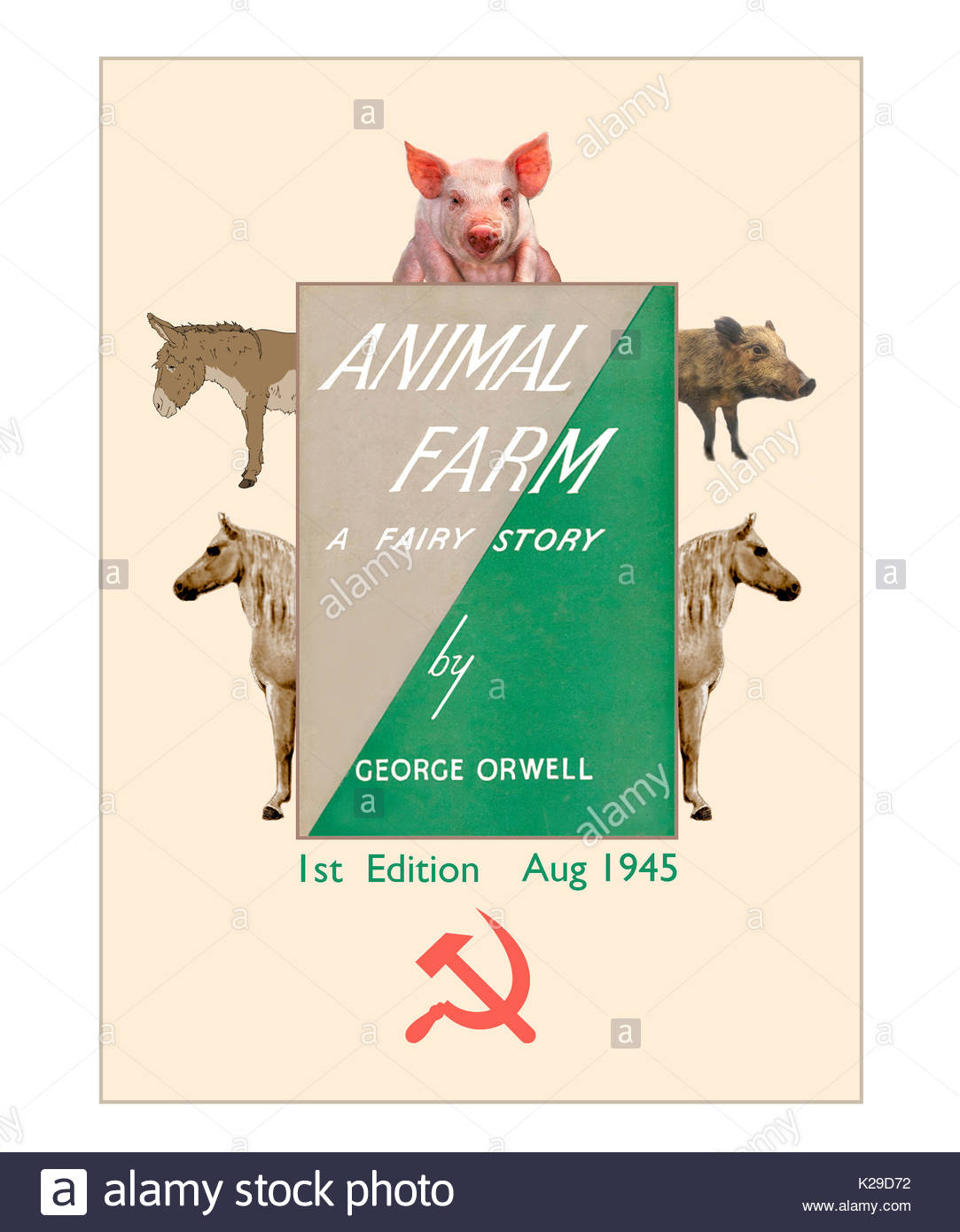 old majorís speech in george orwells animal farm essay The novel animal farm, by george orwell, is an allegory that explores the end of the czarist power in russia the term 'survival of the fittest' applies to the character mollie in this novel who symbolically represents the bourgeoisie of russia.