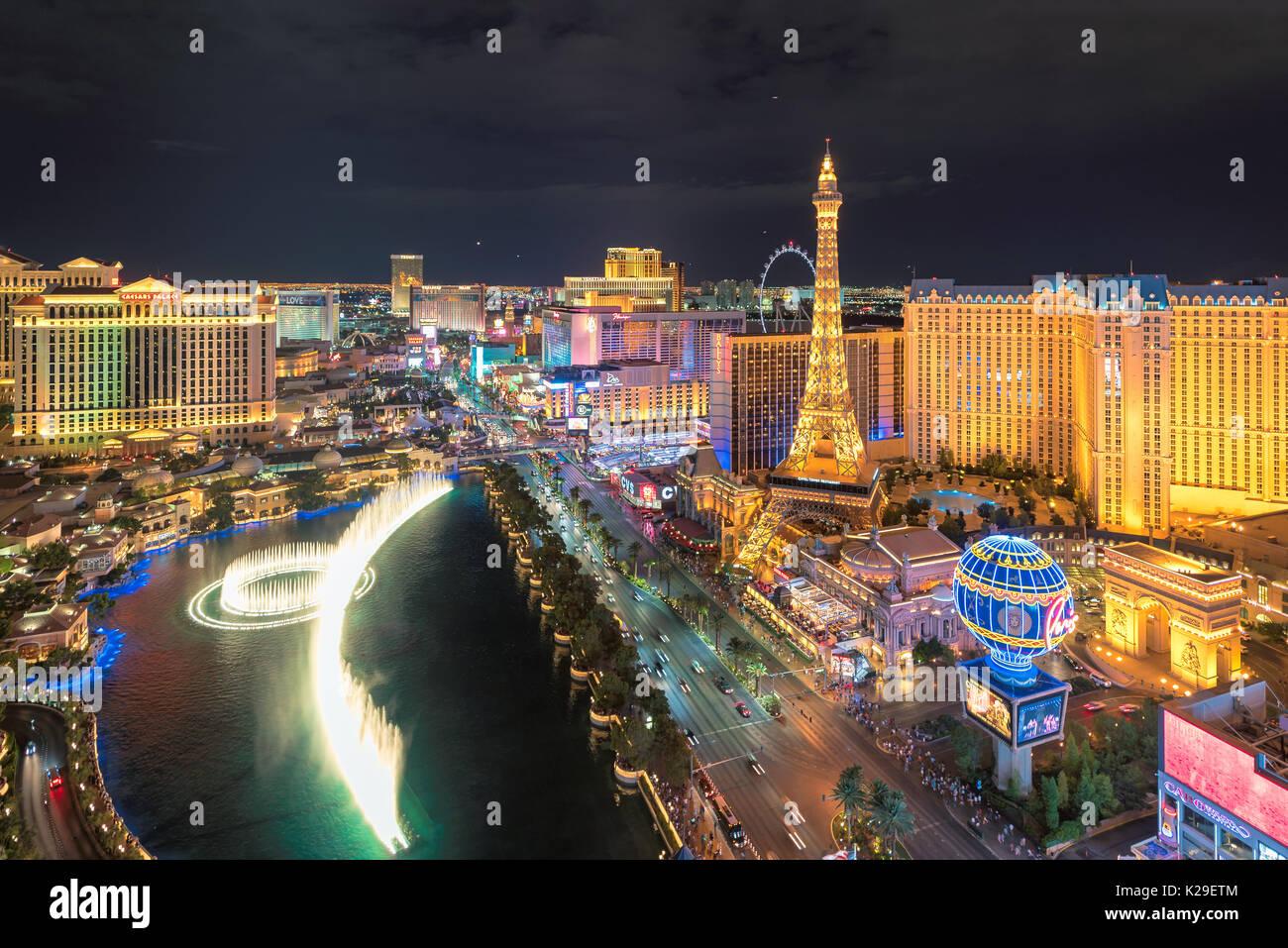 Las Vegas Strip - Stock Image