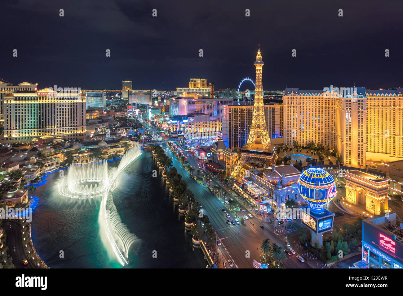 Las Vegas Strip - Stock Image