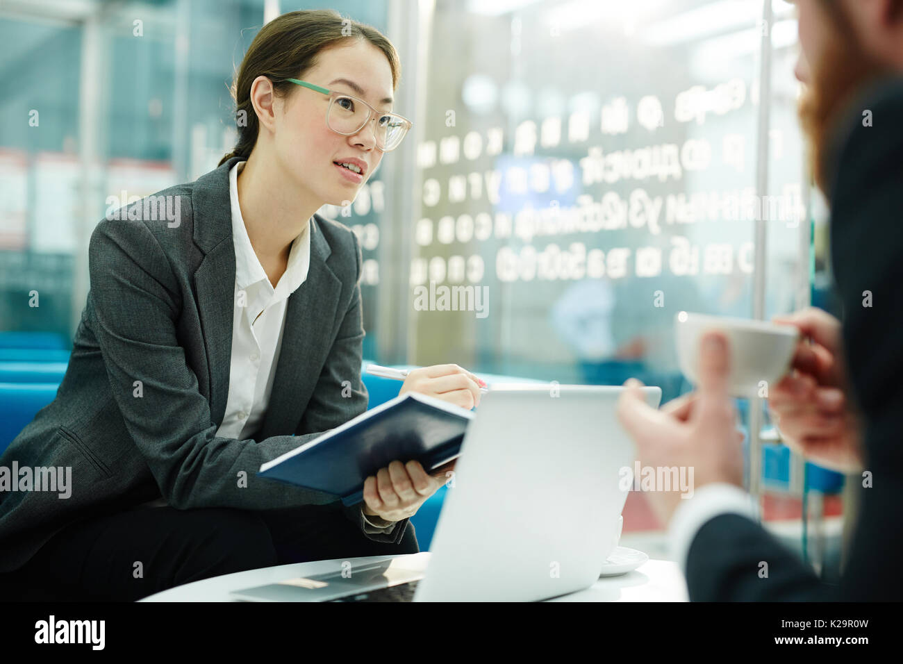 Start-up of colleagues - Stock Image