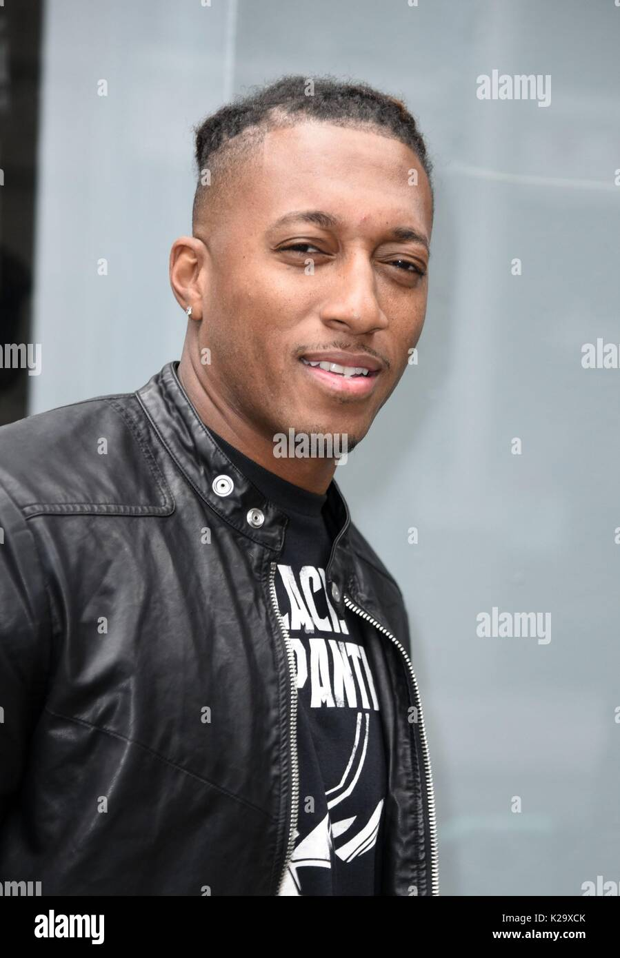 New York, NY, USA  29th Aug, 2017  Lecrae, out promoting his