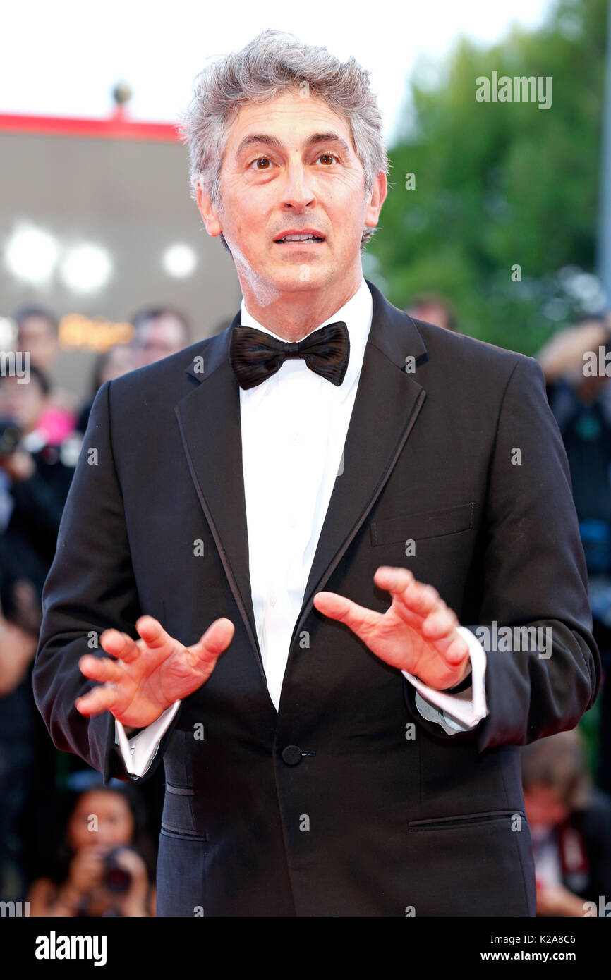 Venice, Italy. 30th Aug, 2017. Alexander Payne arrives at the 'Downsizing' premiere and Opening of the 74th Venice Film Festival at the Palazzo del Cinema on August 30, 2017 in Venice, Italy. ( Credit: John Rasimus)/Media Punch ***France, Sweden, Norway, Denark, Finland, Usa, Czech Republic, South America Only***/Alamy Live News - Stock Image