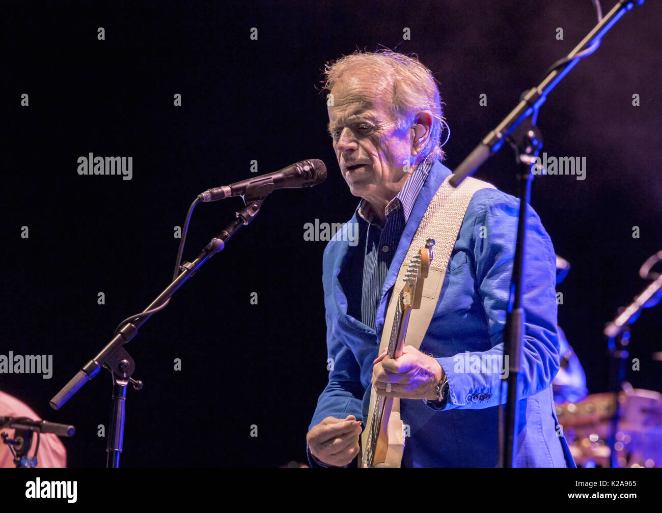 Brian Wilson Performing 'Pet Sounds 50th' at Liverpool Exhibition Centre  Featuring: Al Jardine Where: Liverpool, United Kingdom When: 29 Jul 2017 Credit: Sakura/WENN.com - Stock Image