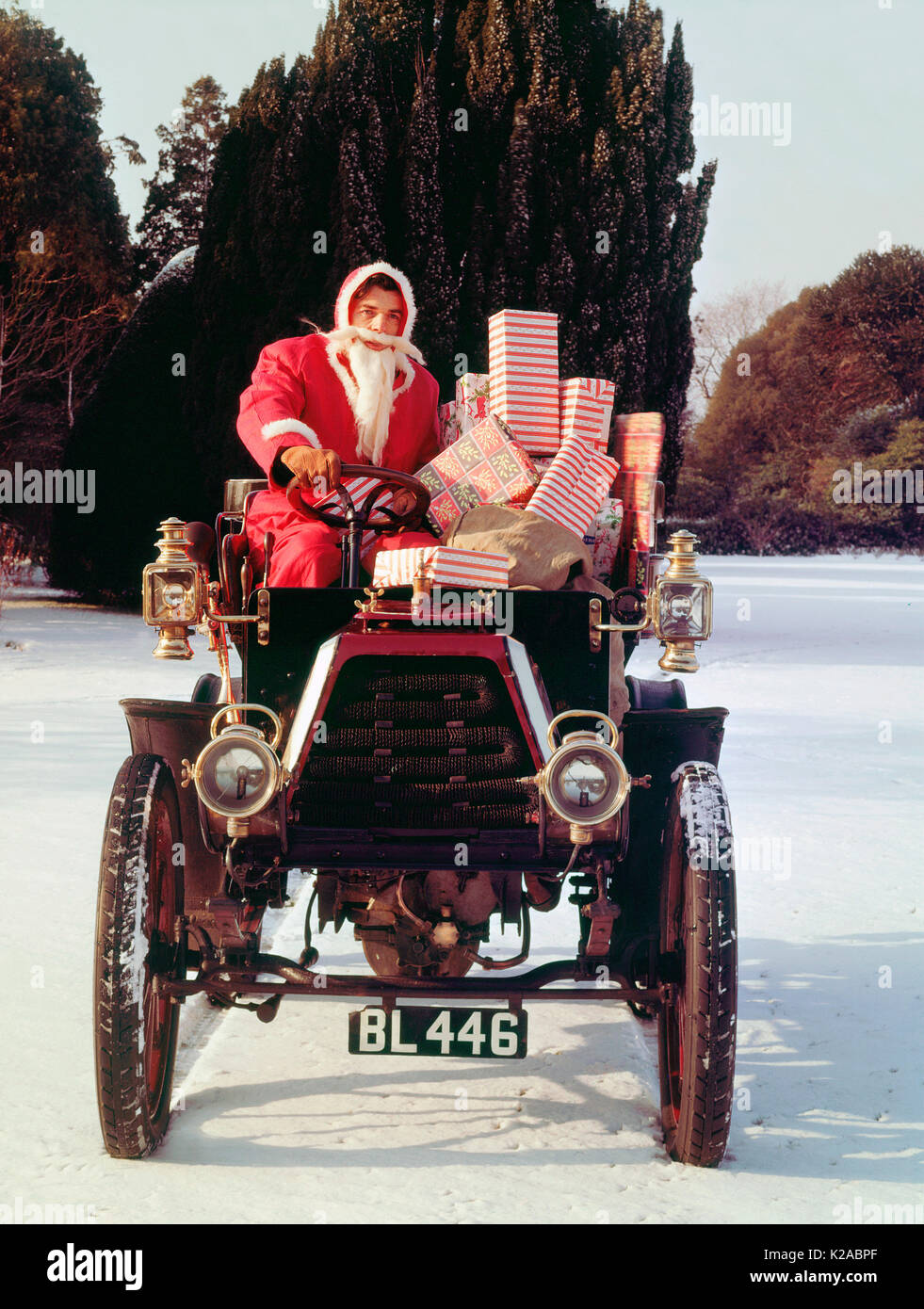 Christmas Gifts Car Stock Photos & Christmas Gifts Car Stock Images ...
