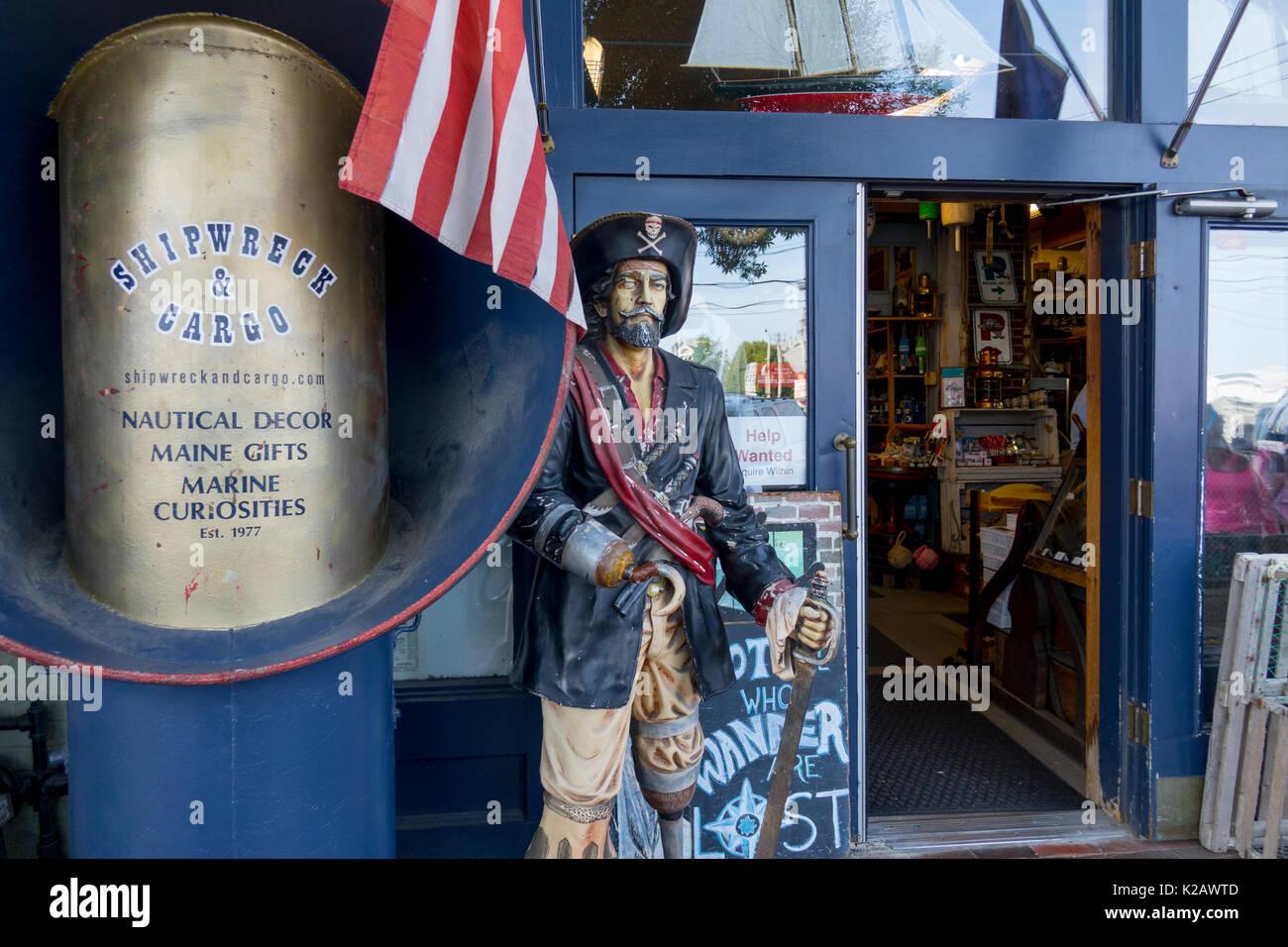 USA Maine ME Portland Old Port Wharf Street The Shipwreck