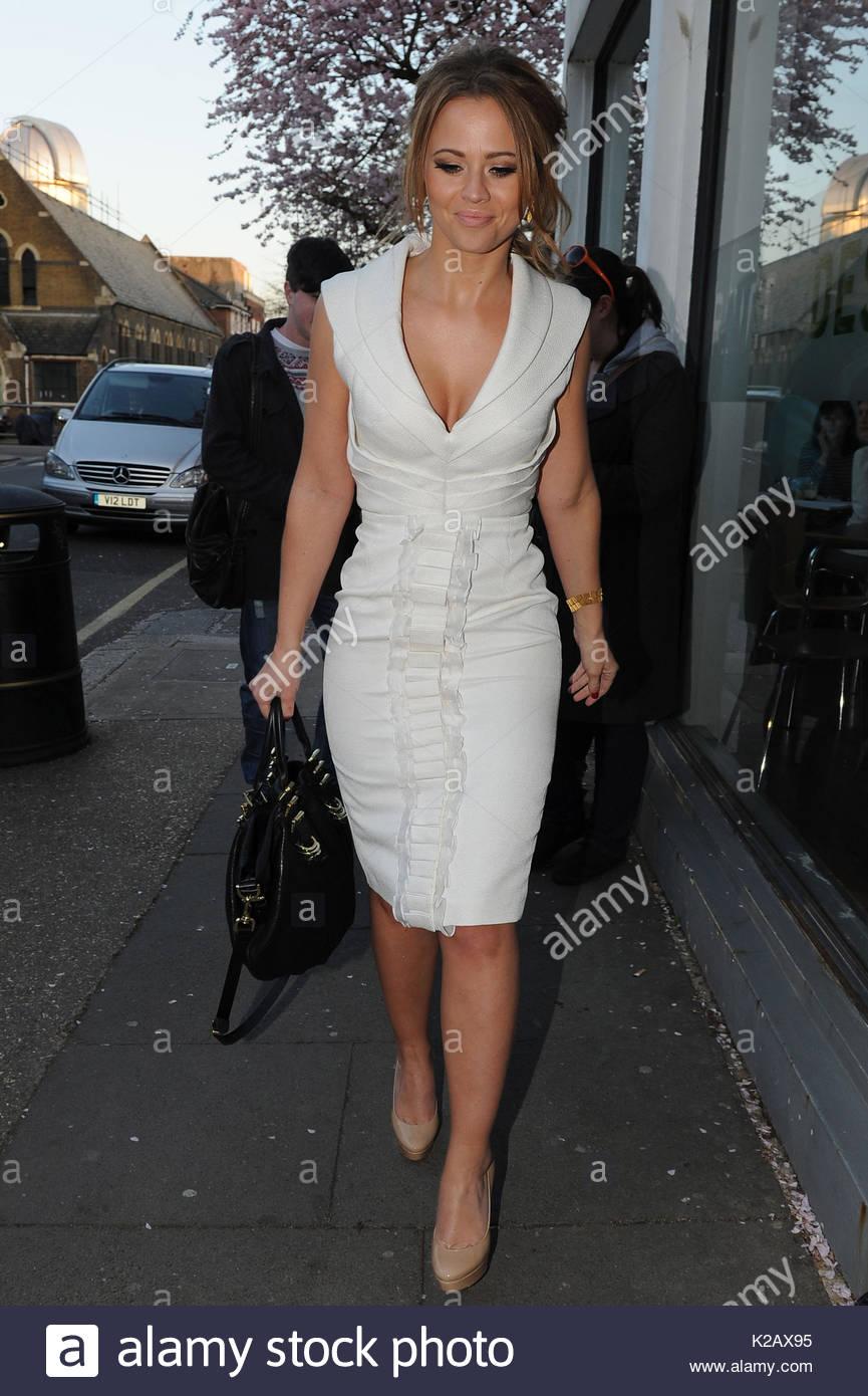 Celebrity Kimberley Walsh