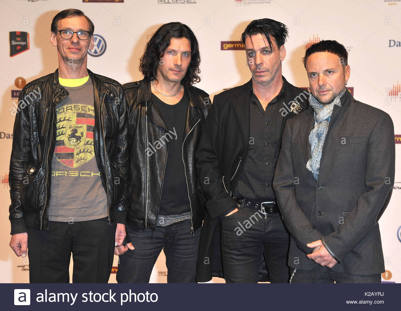 Rammstein stock photos rammstein stock images alamy rammstein international music celebrity arrivals for the echo 2011 at the palais am funkturm in m4hsunfo Choice Image