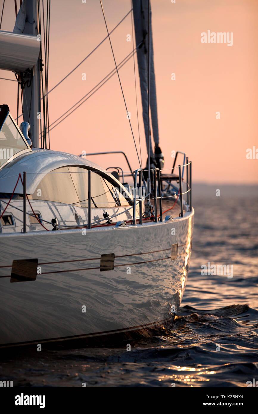 Southerly 57 yacht Annapolis, Maryland, USA, October 2010. - Stock Image