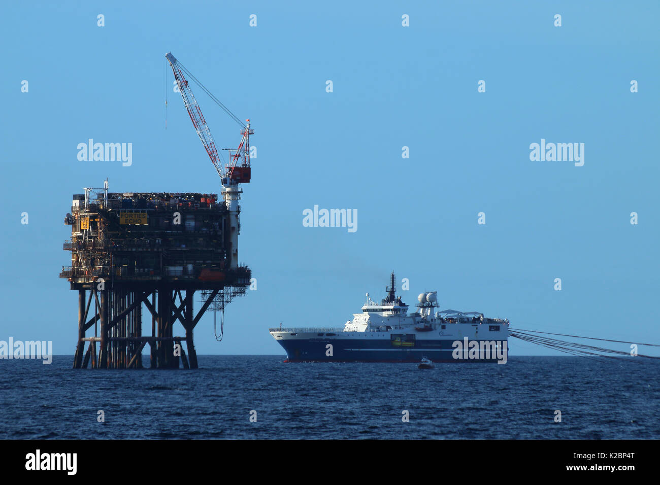 Forties Oil Field Stock Photos & Forties Oil Field Stock