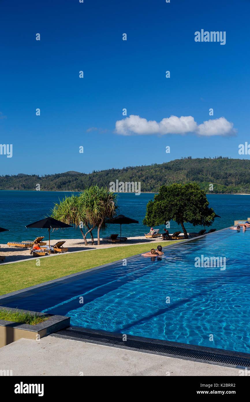 Qualia resort Hamilton Island, Whitsundays, Queensland, Australia. November 2012. - Stock Image