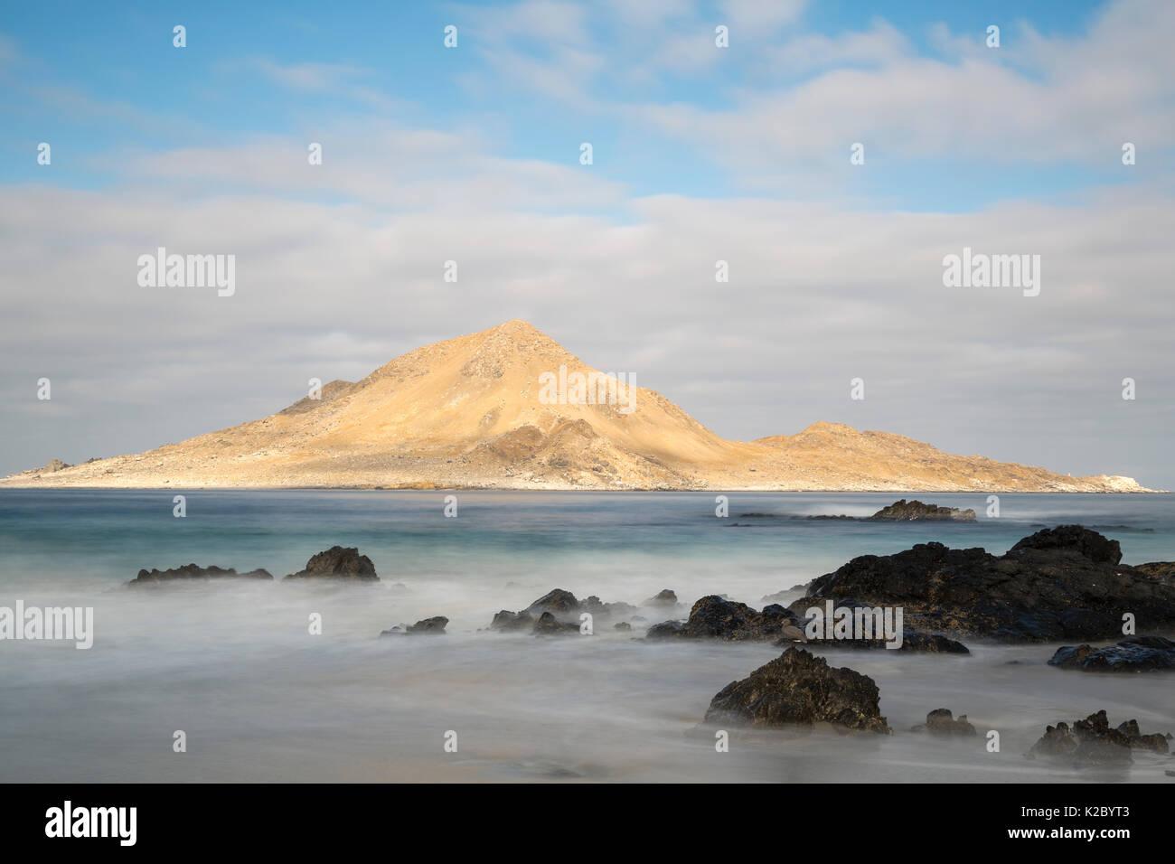 Isla Pan de Azucar, Pan de Azucar National Park, Chile, March 2015. - Stock Image