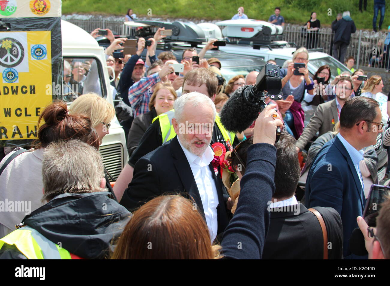 Member of the Labour party at the Labour party conference in Liverpool - Stock Image