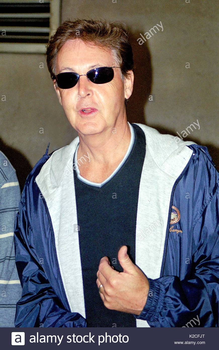 Paul In 2001 McCartney Exits The Plaza Athenee Hotel NYC 1993 And WPLJ Radio Studios On September 21