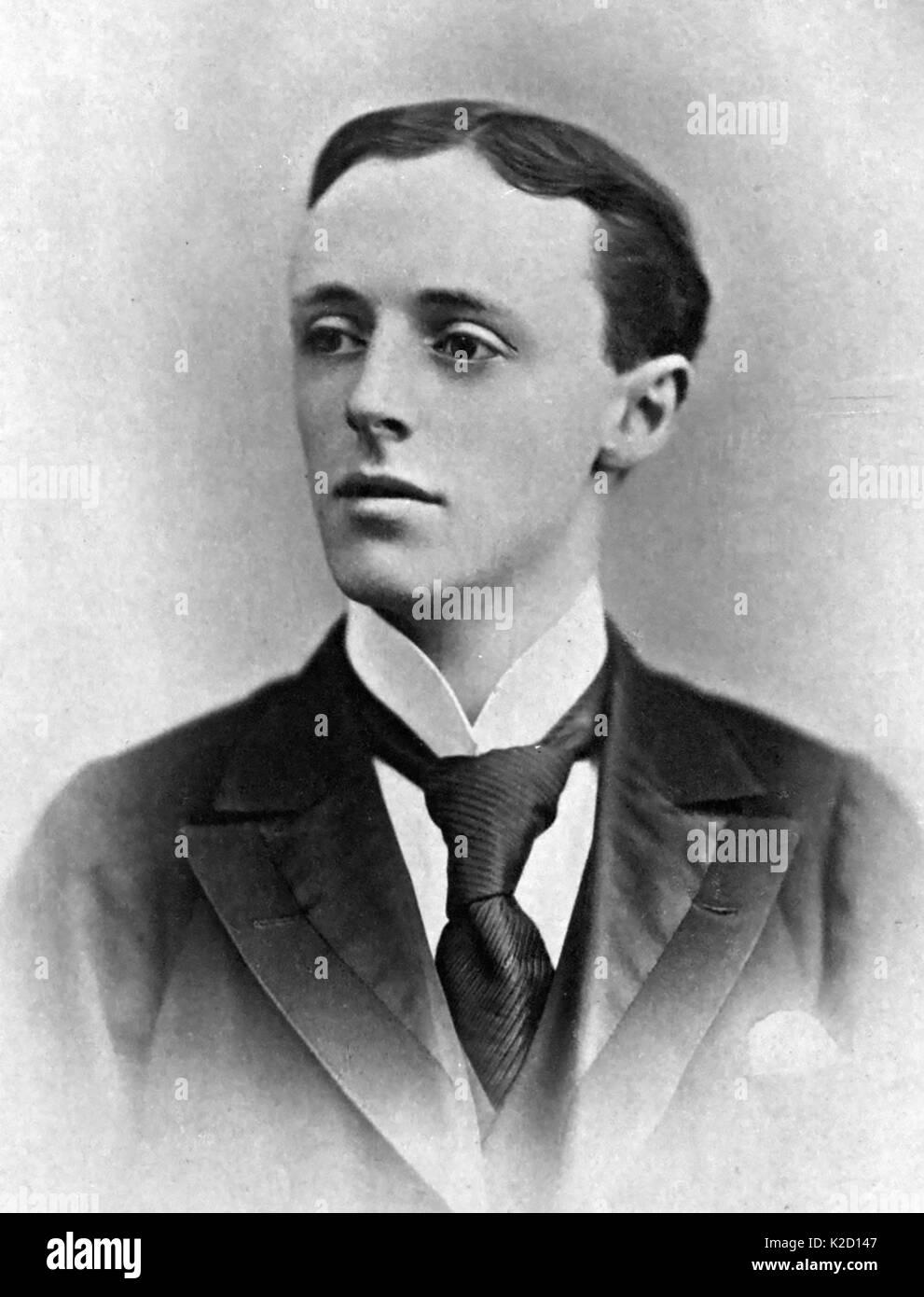 HUBERT CRACKANTHORPE (1870-1896) English writer - Stock Image
