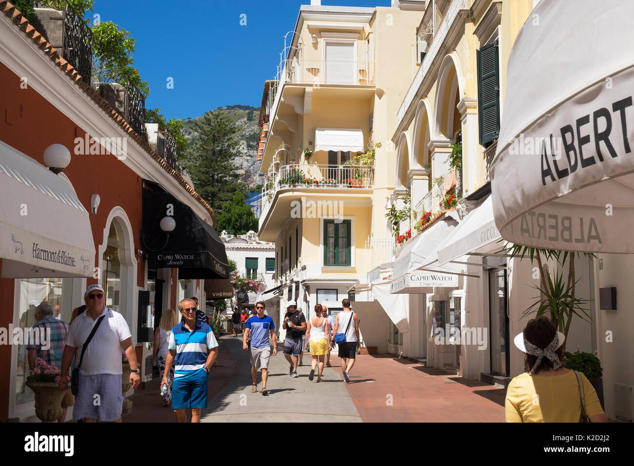 Capri Italy Fashion Shopping