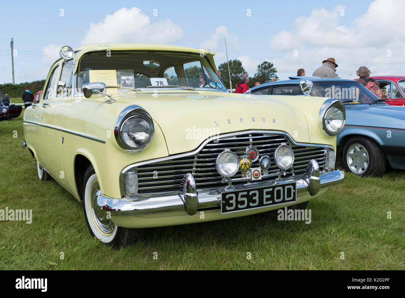 a 1960 ford zephyr six lowline stock photo 156410199 alamy. Black Bedroom Furniture Sets. Home Design Ideas