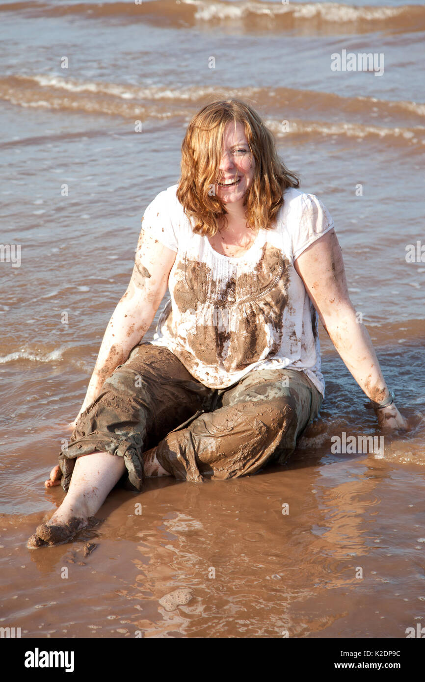 Girl Covered In Sand Beach Stock Photos Amp Girl Covered In