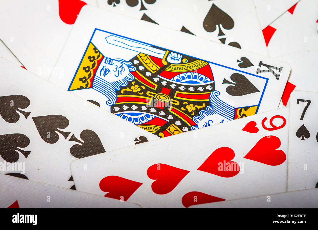 cards - Stock Image