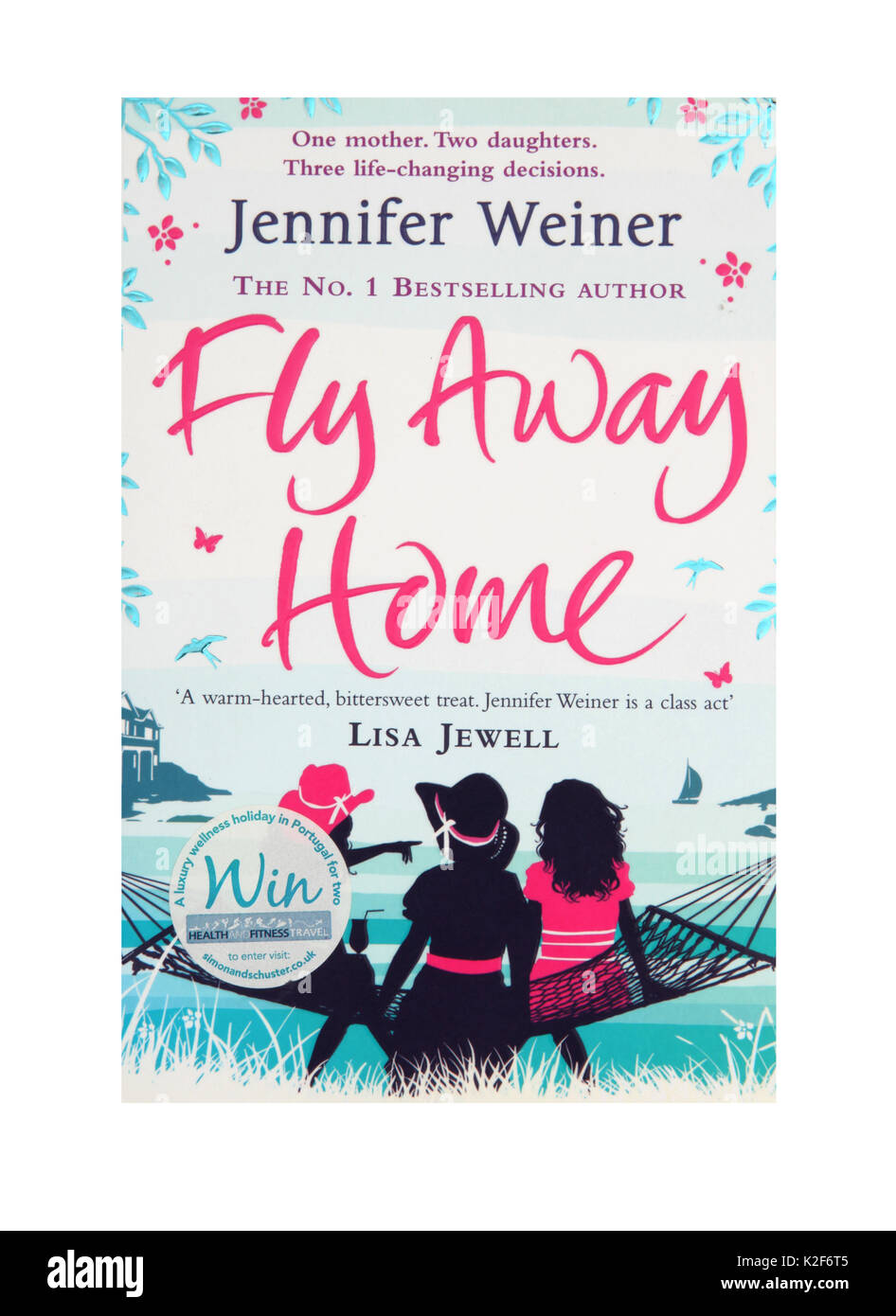 The book, Fly Away Home by Lisa Jewell - Stock Image