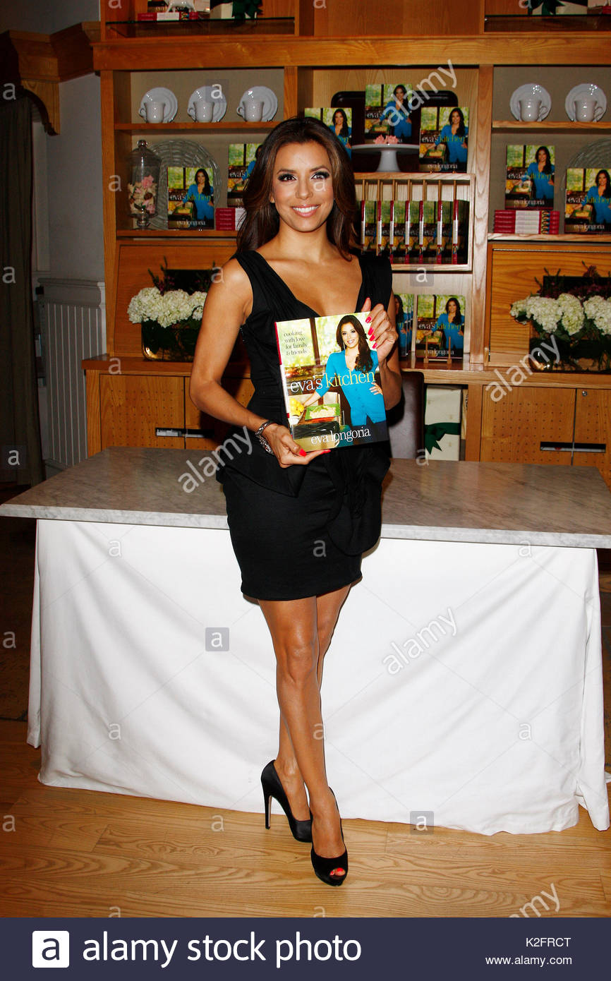 Eva Longoria. Eva Longoria signs copies of her new cookbook \'Eva\'s ...
