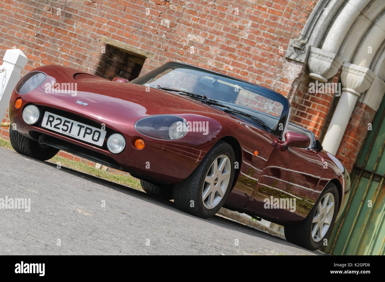 TVR Griffith Classic Sports Car - Stock Image