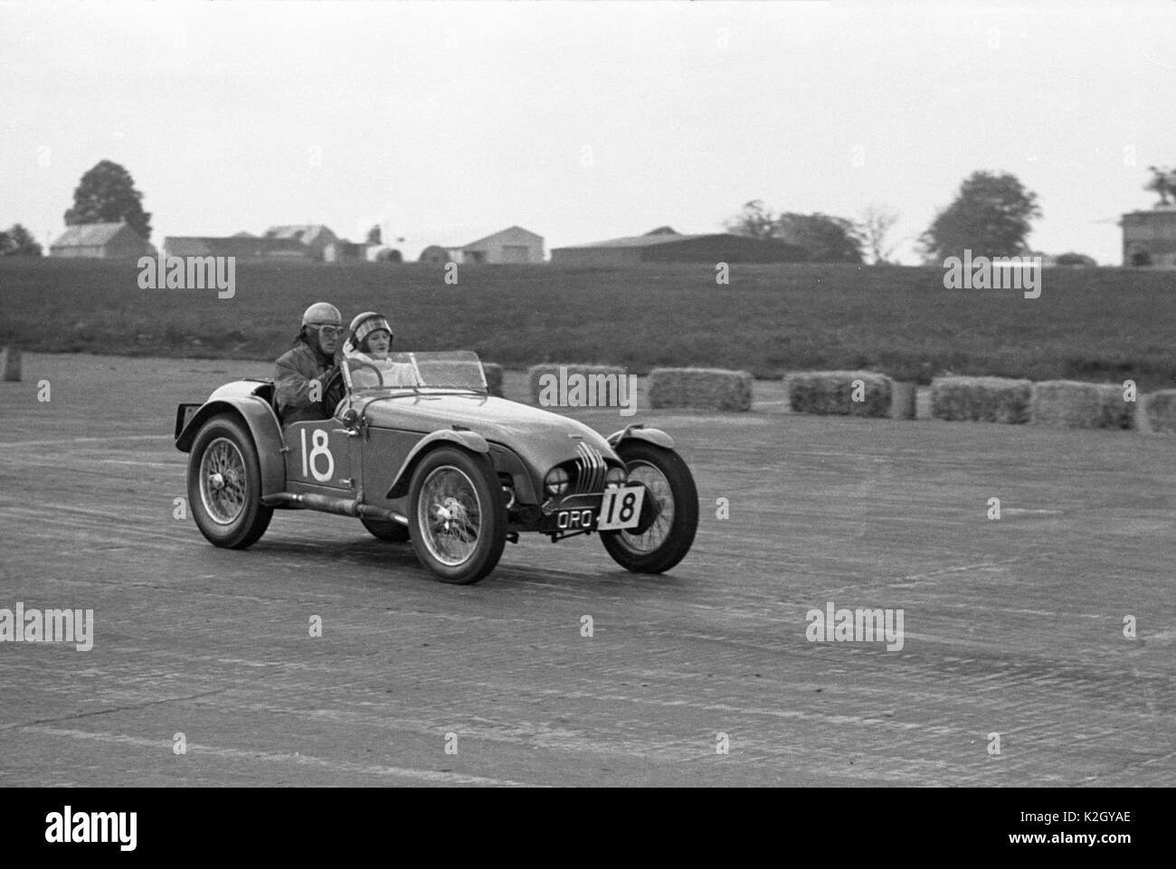 1953 MG Tucker- Peake special. 1953 MCC 4th Silverstone meeting 20/6/1953. - Stock Image