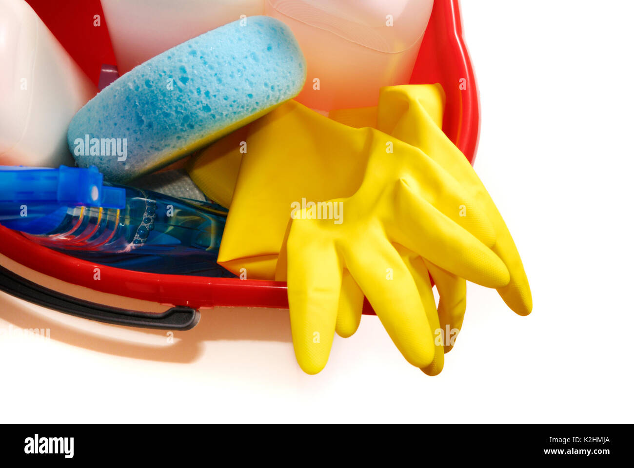 cleaning tools - Stock Image