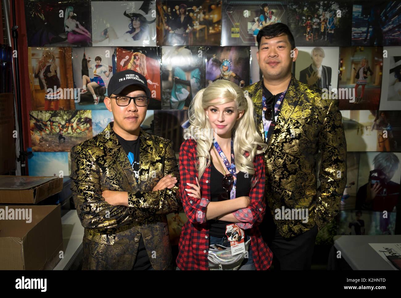cosplay photographers - Stock Image