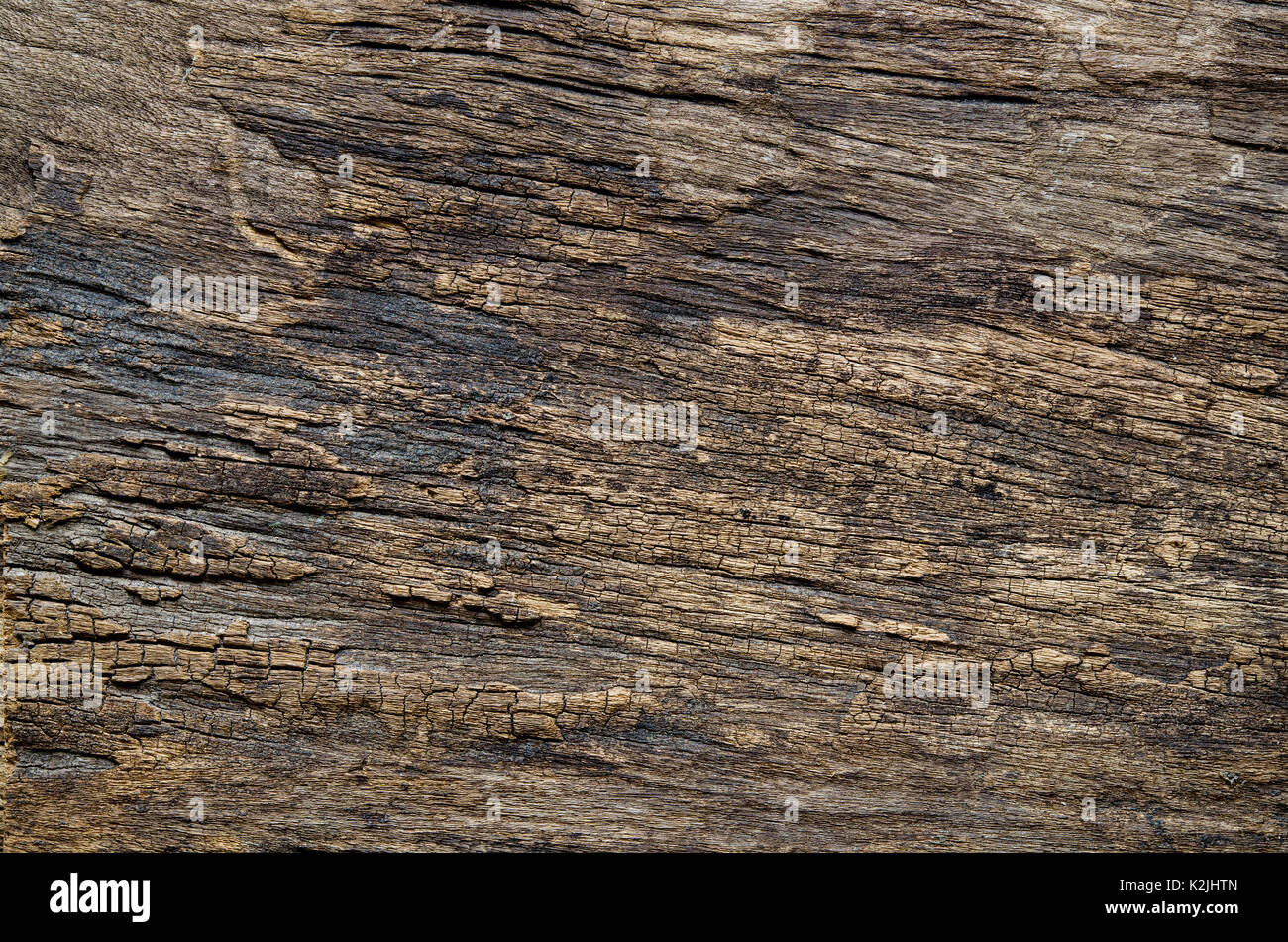 Old natural wooden background. Closeup grunge wooden table texture. Useful as for background. - Stock Image