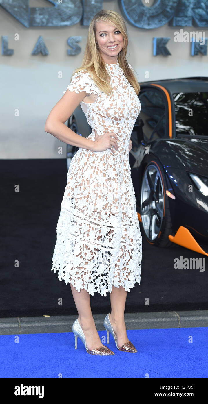 Photo Must Be Credited ©Alpha Press 079965 18/06/2017  Liz McClarnon  Transformers The Last Knight Premiere In Leicester Square London - Stock Image