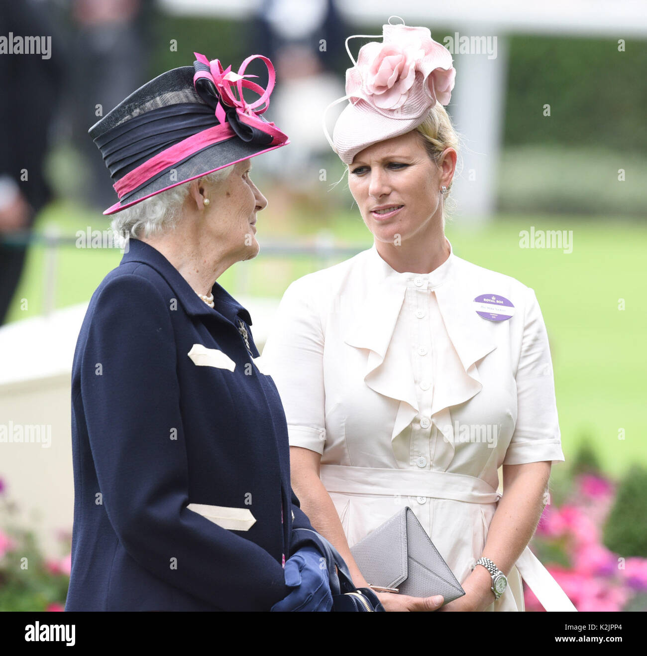Photo Must Be Credited ©Alpha Press 079965 22 06 2017 Zara Phillips Tindall 82b04bca56a3
