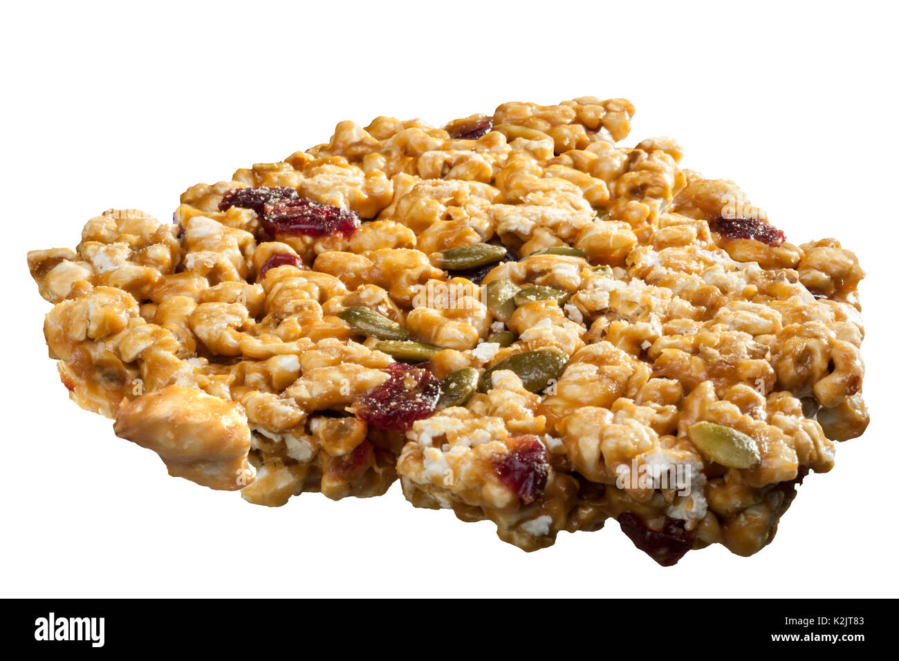Brittle snack food - Stock Image