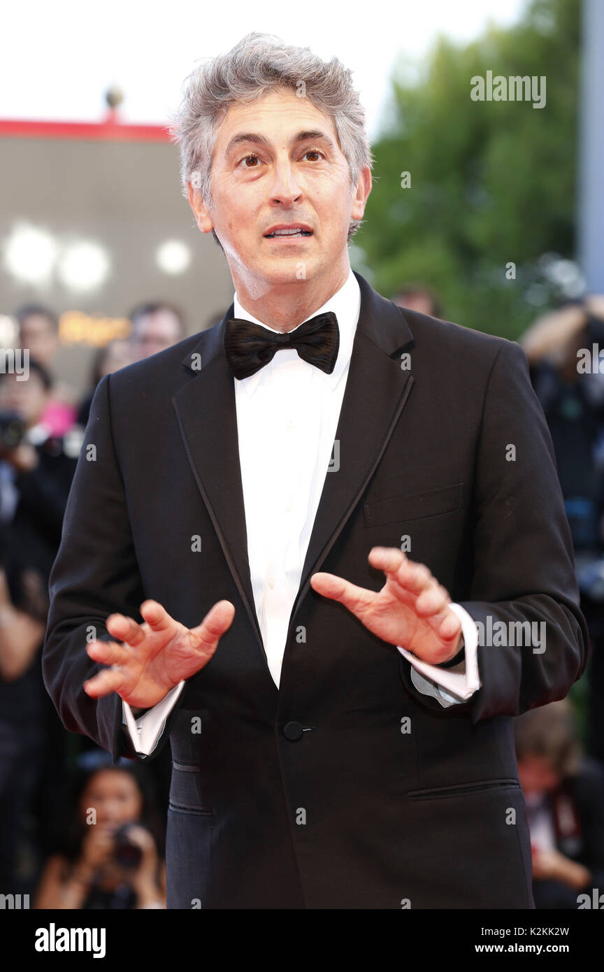 Alexander Payne attending the 'Downsizing' premiere and opening of the 74th Venice International Film Festival at the Palazzo del Cinema on August 30, 2017 in Venice, Italy. | Verwendung weltweit - Stock Image